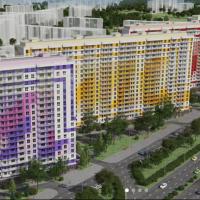 2-комнатная квартира (57,13 кв.м), Комендантский проспект, д. 55